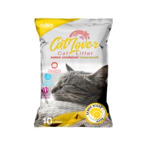 ทรายแมว ออสเทค Cat Lover กลิ่นเลมอน 10 L