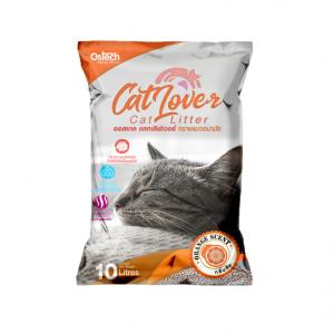 ทรายแมว ออสเทค Cat Lover กลิ่นส้ม 10 L