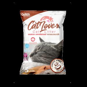 ทรายแมว ออสเทค Cat Lover กลิ่นกาแฟ 5 L