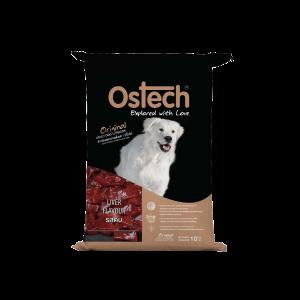ออสเทค ออริจินอล อาหารเม็ดสุนัข รสตับ 10 Kg