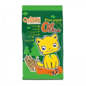 ทรายแมวเปลือกไม้สน Pine Wood Cat Litter 10L