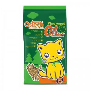 ทรายแมวเปลือกไม้สน Pine Wood Cat Litter 5L