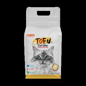 ทรายแมวเต้าหู้ ออสเทค Tofu ทรายแมวเต้าหู้ กลิ่นออริจอนัล 7 L