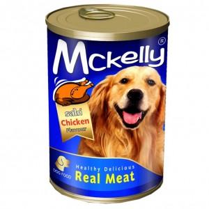 อาหารกระป๋องสุนัขแมคแคลลี่ รสไก่ 400 g.