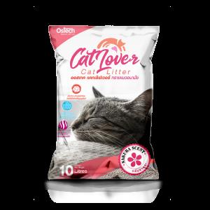 ทรายแมว ออสเทค Cat Lover กลิ่นซากุระ 10 L