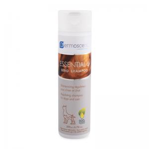 Essential 6® Sebo Shampoo (dogs & cats 200 ml) แชมพูทำความสะอาดผิวหนังและเส้นขน (สุนัข & แมว 200 มล.)