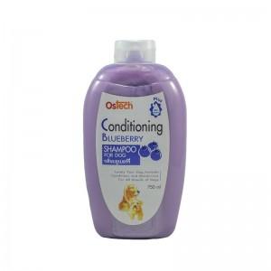 แชมพูออสเทค คอนดิชั่นนิ่ง (กลิ่นบลูเบอร์รี่) 750 ml.