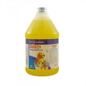 แชมพูออสเทค สูตรกำจัดเห็บหมัดสุนัข 3,800 ml