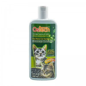 แชมพูออสเทค สำหรับแมวขนยาว 400 ml.