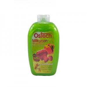 แชมพูออสเทค มิลล์กี้คอน (สีเขียว) 750 ml.