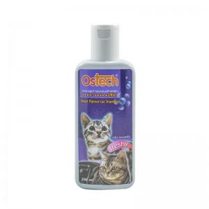 แชมพูออสเทค สำหรับแมวขนสั้น 200 ml.