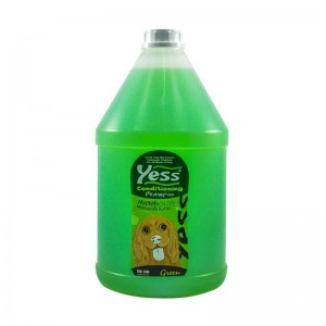 แชมพูเยสส์ คอนดิชั่นนิ่ง-ชนิดใส (สีเขียว) 3800 ml.