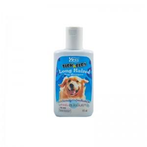 แชมพูเยสส์ กำจัดเห็บ-หมัด (สุนัขขนยาว) 175 ml.