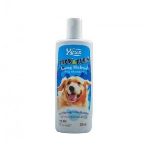 แชมพูเยสส์ กำจัดเห็บ-หมัด (สุนัขขนยาว) 300 ml.