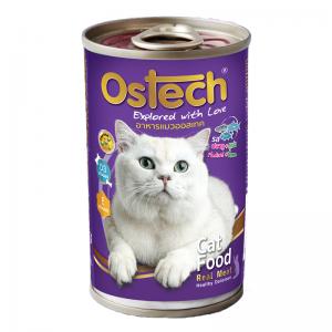 อาหารกระป๋องแมวออสเทค รสปลาทู+ทูน่า 400 g.